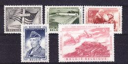 Belgie 1957 Generaal Patton 5v ** Mnh (35863)