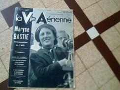 Magazine Aviation Avion Revue La Vie Aerienne Du  16/03/1938 N 0 123 Couverture Maryse Bastié Embassadrice De L Air .. - Livres, BD, Revues