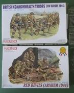 LOT 2 BTES  SOLDATS ANGLAIS - Figurines