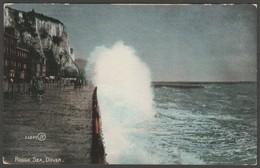 Rough Sea, Dover, Kent, C.1905-10 - Valentine's Postcard - Dover