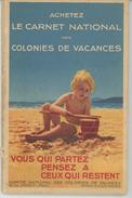 PUBLICITES - Carnet Complet édité Par Le COMITÉ NATIONAL DES COLONIES DE VACANCES Contenant 10 CPA Signées GEORGES REDON - Publicité