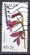 Malta 2014 - 26c Gladiolus Italicus - Usato°