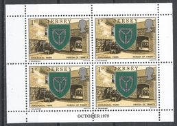 Jersey 1979. Scott #138b (MNH) Arms Of Trinity And Zoo * - Jersey