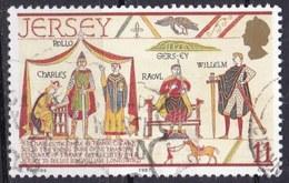 Jersey, 1987 - 11p William The Conqueror - Nr.431 Usato°