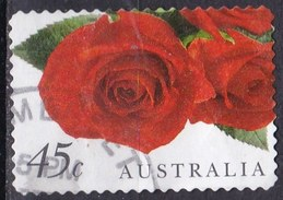 Australia, 1999 - 45c Red Roses - Nr.1723 Usato°