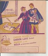 Protège Cahiers - 59 - Nord - Cambrai - Chocolat Cardon - Cath. De Médicis - Charles 10 - Réf . 18 - - Cocoa & Chocolat