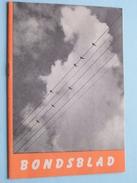 BONDSBLAD Maandschrift Voor Geestelijke Vorming ( + Origineel Gebedsprentje ) Oktober 1958 ( Zie Foto Voor Details ) !! - Religione & Esoterismo