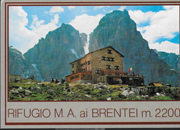 TRENTINO ALTO ADIGE - RIFUGIO M.A. AI BRENTEI  - EDIZ. HERMES - NUOVA NV - Alpinisme
