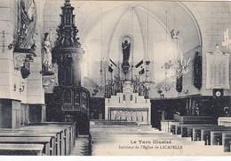 CPA Le Tarn Illustré  Intérieur De L'église De LACAPELLE - Altri Comuni