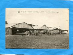 Escadrille Biplans-breguet-avec Pilotes- -sur Camp -près DIJON-années 20-30éditionL B - 1919-1938