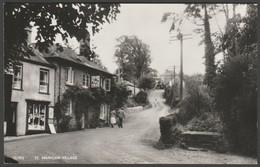 St Mawgan Village, Mawgan In Pydar, Cornwall, C.1950s - Overland RP Postcard - England