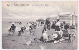 Blankenberghe Cpa Les Plaisirs De La Plage Anno 1927