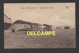 DF / AVIATION MILITAIRE / CAMP D'AVIATION PRÈS DE DIJON : BIPLANS BRÉGUET AU DÉPART / CIRCULÉE EN 1916 - 1914-1918: 1. Weltkrieg
