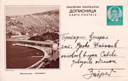 Carte Postale Yougoslavie 1939 Jugoslavija Martinščica Croatie Croatia - 1931-1941 Kingdom Of Yugoslavia