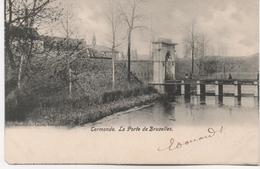 CERMONDE  LA PORTE DE BRUXELLES  EN 1904 - Dentergem