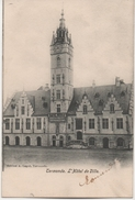 CERMONDE  L'HOTEL DE VILLE  EN 1904 - Dentergem