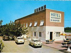 CPM  AUBERIVES SUR VAREZE --  HOTEL DU DAUPHIN - Autres Communes