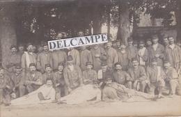 LA VARENNE SAINT HILAIRE 1915 - Carte Photo D'un Groupe De Soldats Du 9ème Régiment ( 94 ) - Other Municipalities