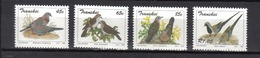 TRANSKEI Oiseaux N° 311 à 314 Neufs** MNH Cote 6€