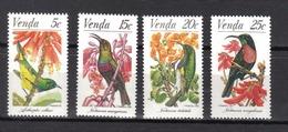 VENDA Oiseaux N° 38 à 41 Neufs** MNH Cote 3€