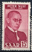 Stamp Saar  1950 MLH - 1947-56 Protectorate