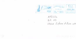 France-Aubergenville-21/09/2007-Les Mureaux-EADS Space (fusées, Satellites) - Lettres & Documents