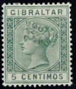 Gibraltar (1889) - № 22*
