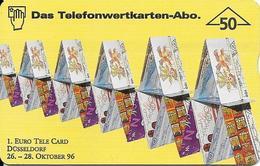 1. Euro Tele Card Expo Düsseldorf 1996 - Oesterreich