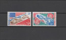 Congo 1973 Space Apollo - Soyuz Set Of 2 MNH - Space
