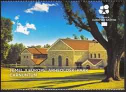 Croatia European Union 2016 / Europe Starts Here / Heritage / ARCHAELOGICAL PARK CARNUNTUM Petronell-Carnuntum, Austria - Historia