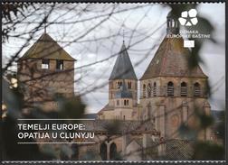 Croatia European Union 2016 / Europe Starts Here / European Heritage / ABBEY OF CLUNY France - Historia