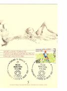 Italia-Italie-Italy Maximum Card-Carte Maximum Football Championship-Championnat Europa 1980  PR4732 - Championnat D'Europe (UEFA)