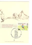 Italia-Italie-Italy Maximum Card-Carte Maximum Football Championship-Championnat Europa Napoli 1980  PR4733 - Fußball-Europameisterschaft (UEFA)