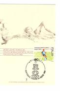 Italia-Italie-Italy Maximum Card-Carte Maximum Football Championship-Championnat Europa Torino 1980  PR4734 - Championnat D'Europe (UEFA)