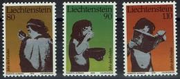 Liechtenstein 1979 - MiNr 725-727 - Internationales Jahr Des Kindes - Liechtenstein