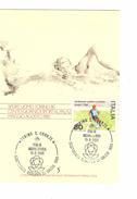 Italia-Italie-Italy Maximum Card-Carte Maximum Football Championship-Championnat Europa Milano 1980  PR4735 - Championnat D'Europe (UEFA)