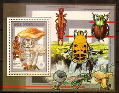 MADAGASCAR - 1993 - Feuillet 1266 - Cinquantenaire De La Mort De BADEN-POWELL (surcharge Or) - Valeur : 1025 F - Madagaskar (1960-...)