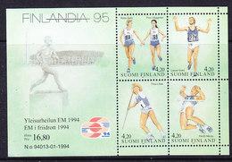 Finland 1994 Atletics / Finlandia ´95 M/s ** Mnh (35867)