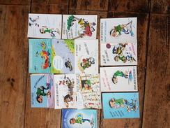 Lot De 13 Cartes LAGAFFE - FRANQUIN  ................(68) - Stripverhalen