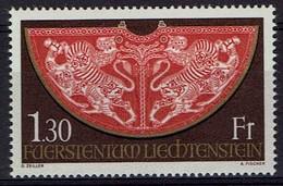 Liechtenstein 1975 - MiNr 634 - Schatzkammer Der Wiener Hofburg,  Krönungsmantel - Liechtenstein