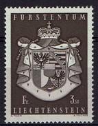 Liechtenstein 1969 - MiNr 506 - Großes Staatswappen Von Liechtenstein - Liechtenstein