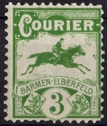ALLEMAGNE POSTE LOCALE3 PFG BARMEN  NEUF ** THEME FAUNE CHEVAL