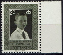 Liechtenstein 1956 - MiNr 352 - Erbprinz Hans-Adam - Liechtenstein