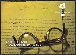 Croatia European Union 2016 / Europe Starts Here / European Heritage / ROBERT SCHUMAN'S HOUSE Scy-Chazelles, France - Histoire
