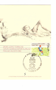 Italia-Italie-Italy Maximum Card-Carte Maximum Football Championship-Championnat Europa Roma 1980  PR4741 - Championnat D'Europe (UEFA)