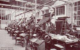 RENNES - Imprimerie OBERTHUR - Salle Des Linotypes (carte Commande Voir Verso) - Rennes