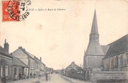 28-LUCE- EGLISE ET ROUTE DE CHARTRES - Other Municipalities