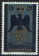 Liechtenstein 1956 - MiNr 347 - Wappenadler Mit Fürstenkrone Und Eichenkranz - Liechtenstein