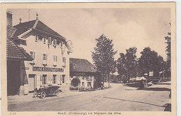 Riaz (Fribourg) - La Maison De Ville Avec Oldtimer        (P-43-50115) - FR Fribourg