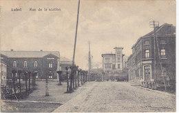 Aubel - Rue De La Station (hôtel Des Chemins De Fer, Edit. Joseph Poensgen) - Aubel
